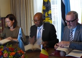 Signing of double taxation treaty with Botswana