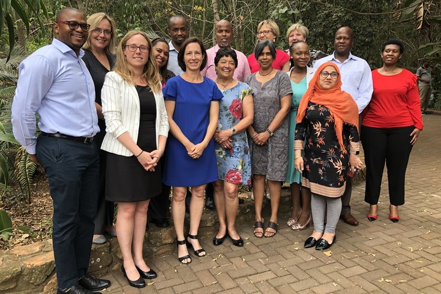 10th Bilateral Consultation on Development Cooperation Flanders - SA
