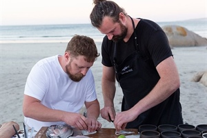"""Two Brothers from another Sea"" culinary exchange in Paternoster"