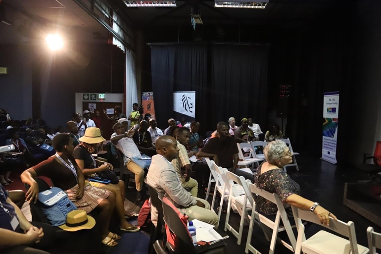 SA-EU Community Arts Centres Dialogue in Durban
