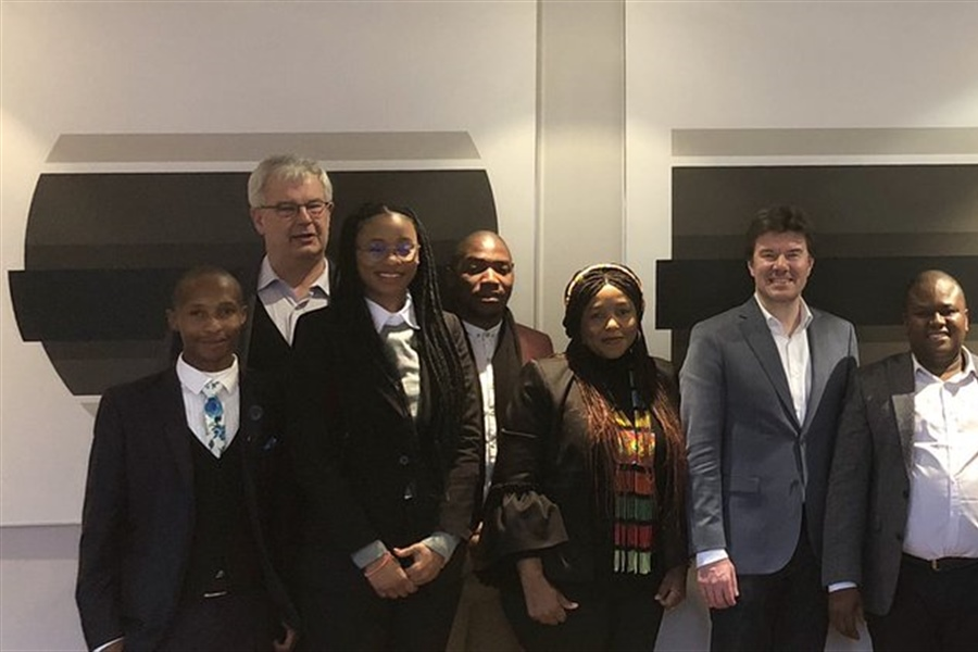 South African delegation in Flanders for youth cooperation