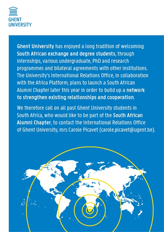 Ghent University launches Alumni Chapter in South Africa