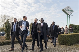 Malawian Minister for Agriculture visits Flanders