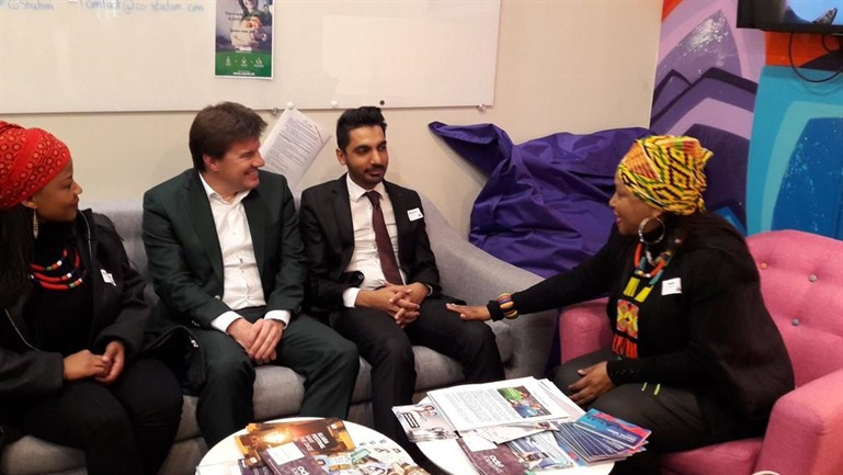 Flemish - South African youth cooperation in the spotlight